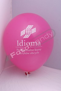 Balony z helem na start działalności
